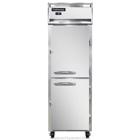 Continental Refrigerator 1FSNSSHD Freezer, Reach-In