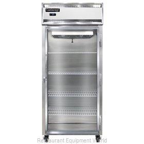Continental Refrigerator 1FX-GD Freezer, Reach-In