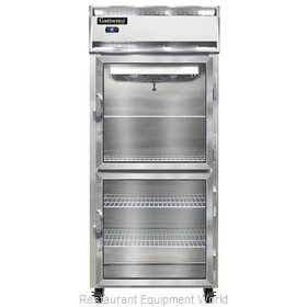 Continental Refrigerator 1FX-LT-GD-HD Freezer, Low Temperature, Reach-In