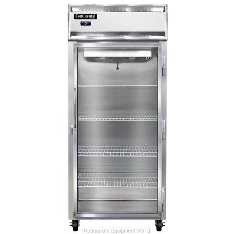 Continental Refrigerator 1FX-LT-GD Freezer, Low Temperature, Reach-In