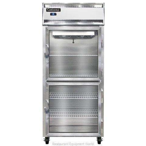 Continental Refrigerator 1FX-LT-SA-GD-HD Freezer, Low Temperature, Reach-In