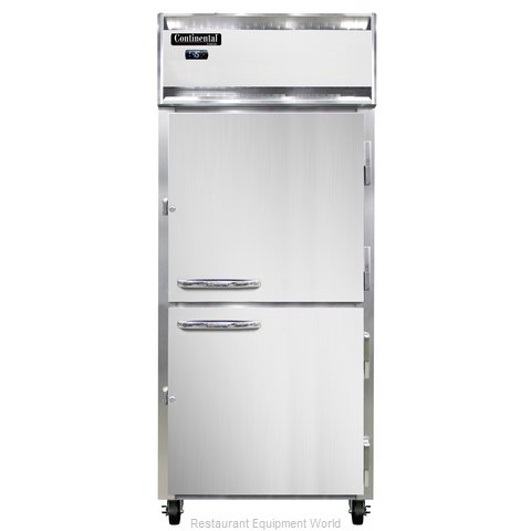 Continental Refrigerator 1FX-LT-SA-HD Freezer, Low Temperature, Reach-In