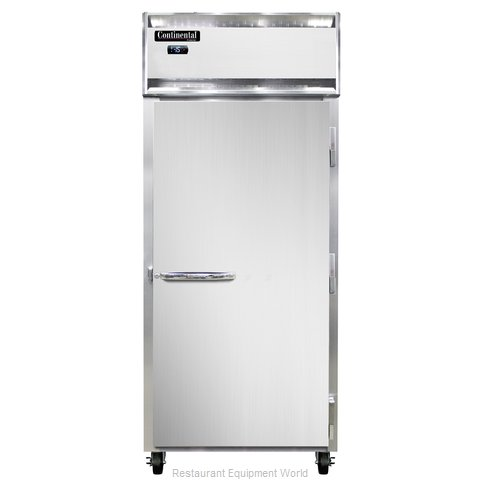 Continental Refrigerator 1FX-LT-SA Freezer, Low Temperature, Reach-In