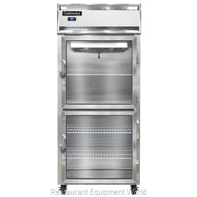 Continental Refrigerator 1FX-LT-SS-GD-HD Freezer, Low Temperature, Reach-In