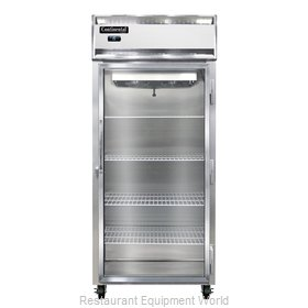 Continental Refrigerator 1FX-LT-SS-GD Freezer, Low Temperature, Reach-In