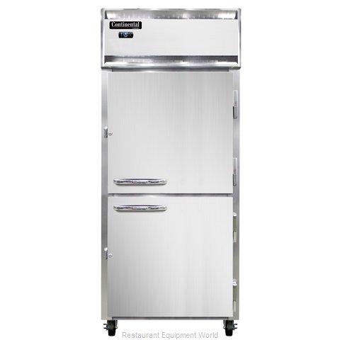 Continental Refrigerator 1FX-LT-SS-HD Freezer, Low Temperature, Reach-In