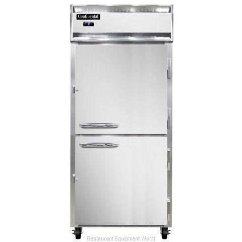 Continental Refrigerator 1FX-PT-HD Freezer, Pass-Thru