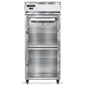 Continental Refrigerator 1FX-SS-GD-HD Freezer, Reach-In