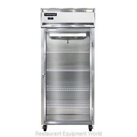 Continental Refrigerator 1FX-SS-GD Freezer, Reach-In