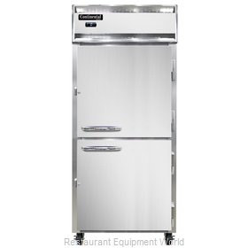 Continental Refrigerator 1FX-SS-HD Freezer, Reach-In
