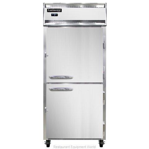 Continental Refrigerator 1FX-SS-PT-HD Freezer, Pass-Thru