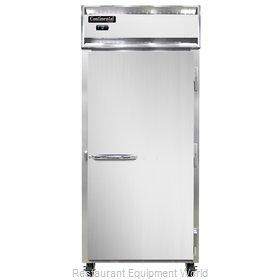 Continental Refrigerator 1FX-SS Freezer, Reach-In