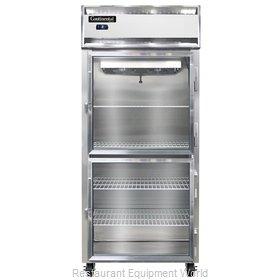 Continental Refrigerator 1FXS-GD-HD Freezer, Reach-In