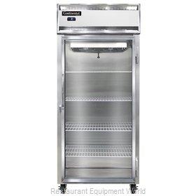 Continental Refrigerator 1FXS-GD Freezer, Reach-In