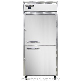 Continental Refrigerator 1FXS-SS-HD Freezer, Reach-In