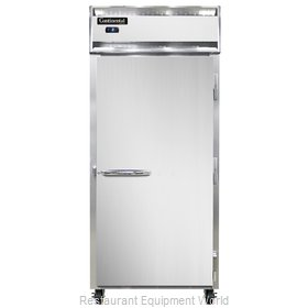 Continental Refrigerator 1FXS-SS Freezer, Reach-In