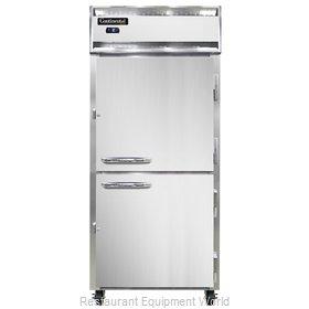 Continental Refrigerator 1FXSNSAHD Freezer, Reach-In