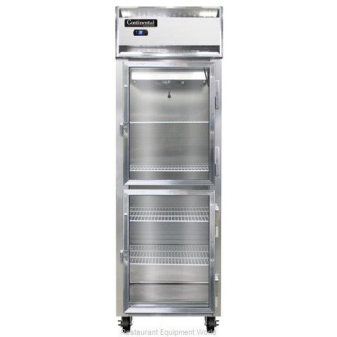 Continental Refrigerator 1R-GD-HD Refrigerator, Reach-In