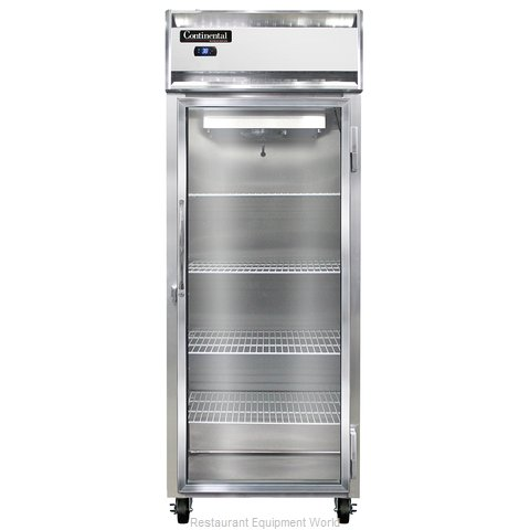 Continental Refrigerator 1RE-GD Refrigerator, Reach-In