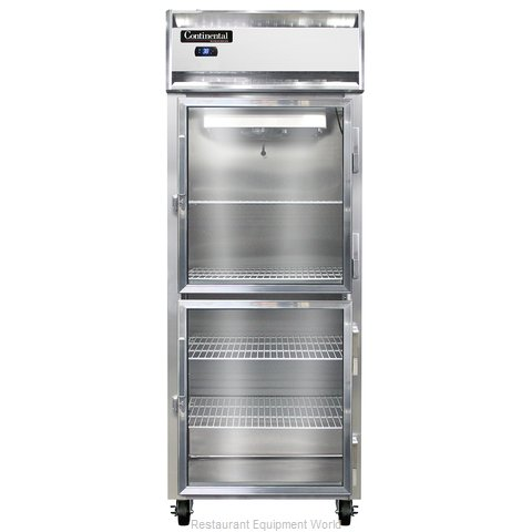 Continental Refrigerator 1RE-SA-GD-HD Refrigerator, Reach-In