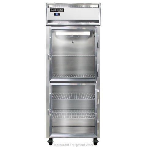 Continental Refrigerator 1RE-SS-GD-HD Refrigerator, Reach-In