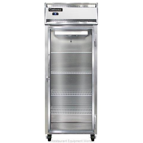 Continental Refrigerator 1RE-SS-GD Refrigerator, Reach-In