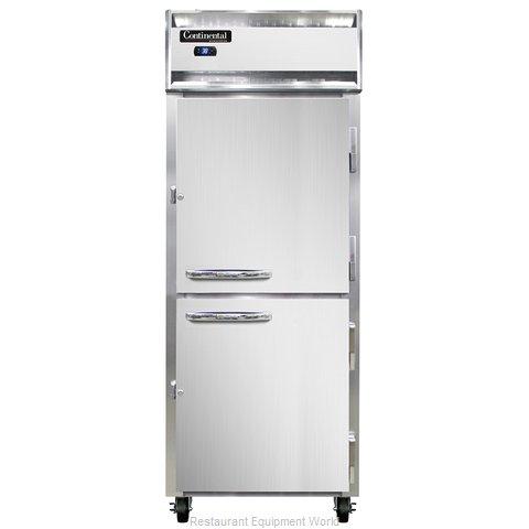Continental Refrigerator 1RE-SS-PT-HD Refrigerator, Pass-Thru