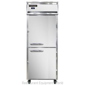 Continental Refrigerator 1RE-SS-PT-HD Refrigerator, Pass-Thru