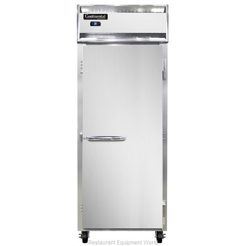 Continental Refrigerator 1RE-SS-PT Refrigerator, Pass-Thru