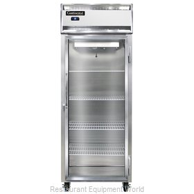 Continental Refrigerator 1RES-GD Refrigerator, Reach-In
