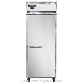 Continental Refrigerator 1RES-SS Refrigerator, Reach-In