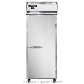 Continental Refrigerator 1RES-SS Refrigerator, Reach-In