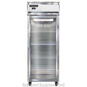 Continental Refrigerator 1RESNSSGD Refrigerator, Reach-In
