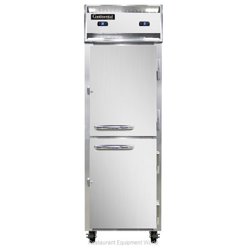 Continental Refrigerator 1RF-SS-HD Refrigerator Freezer, Reach-In