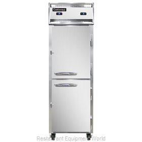 Continental Refrigerator 1RF-SS-HD Refrigerator Freezer, Reach-In