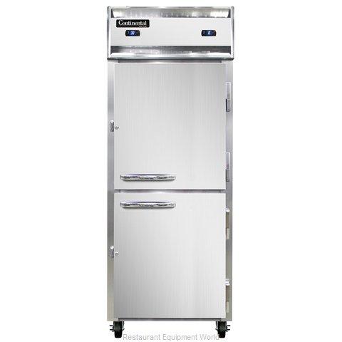 Continental Refrigerator 1RFE-HD Refrigerator Freezer, Reach-In