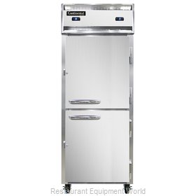 Continental Refrigerator 1RFE-SS-HD Refrigerator Freezer, Reach-In