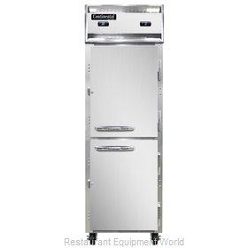 Continental Refrigerator 1RFNSAHD Refrigerator Freezer, Reach-In