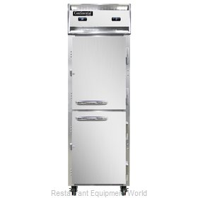 Continental Refrigerator 1RFNSSHD Refrigerator Freezer, Reach-In