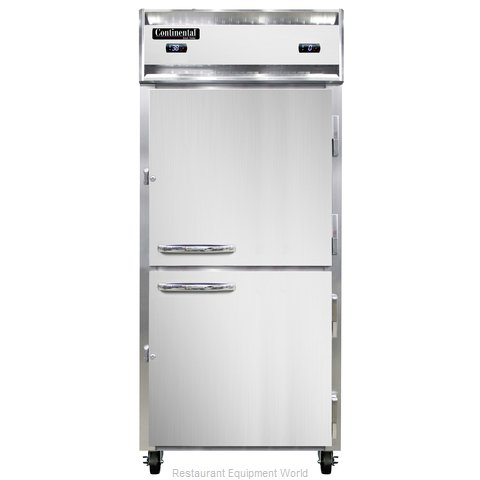 Continental Refrigerator 1RFX-HD Refrigerator Freezer, Reach-In