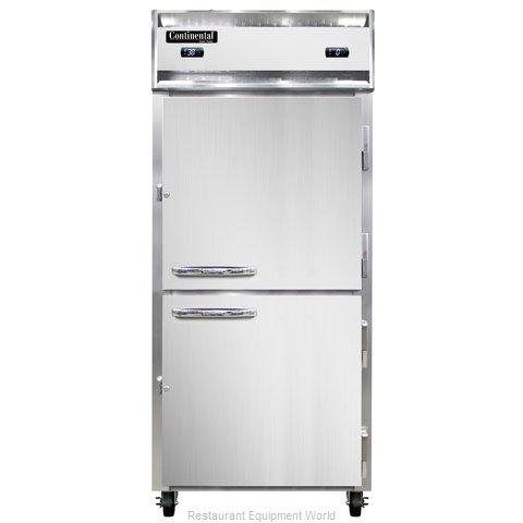 Continental Refrigerator 1RFX-SS-HD Refrigerator Freezer, Reach-In