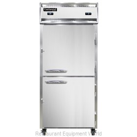 Continental Refrigerator 1RFX-SS-HD Refrigerator Freezer, Reach-In