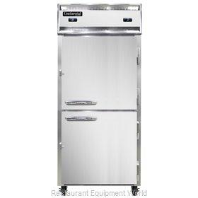 Continental Refrigerator 1RFXNHD Refrigerator Freezer, Reach-In