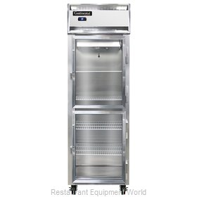 Continental Refrigerator 1RS-GD-HD Refrigerator, Reach-In