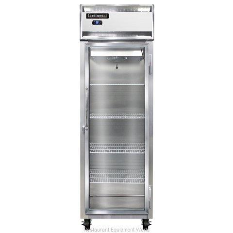 Continental Refrigerator 1RS-SA-GD Refrigerator, Reach-In