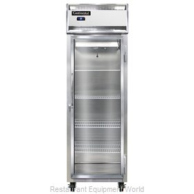Continental Refrigerator 1RS-SA-GD Refrigerator, Reach-In