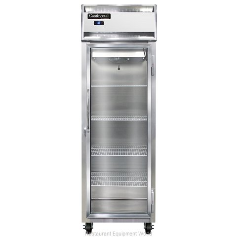 Continental Refrigerator 1RS-SS-GD Refrigerator, Reach-In