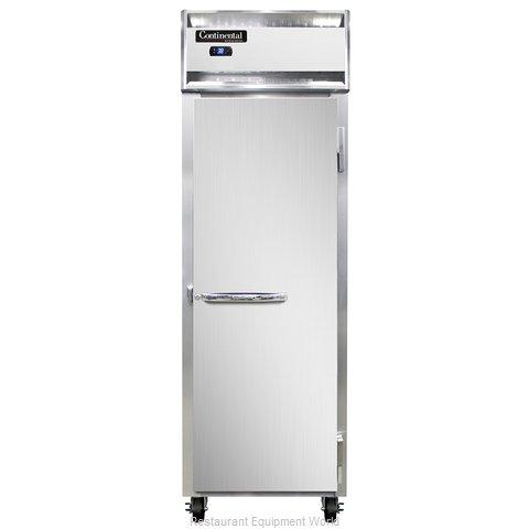 Continental Refrigerator 1RS-SS Refrigerator, Reach-In
