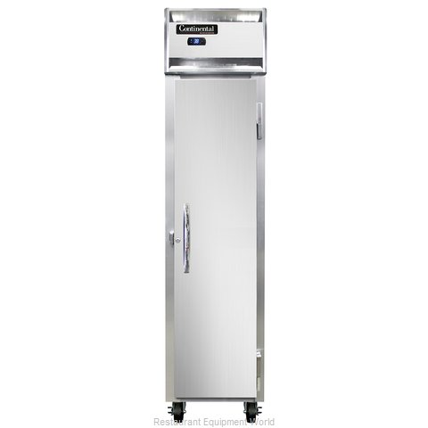 Continental Refrigerator 1RSES-SA Refrigerator, Reach-In