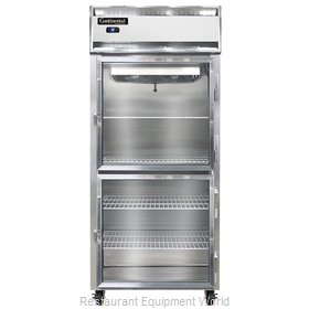 Continental Refrigerator 1RXS-GD-HD Refrigerator, Reach-In
